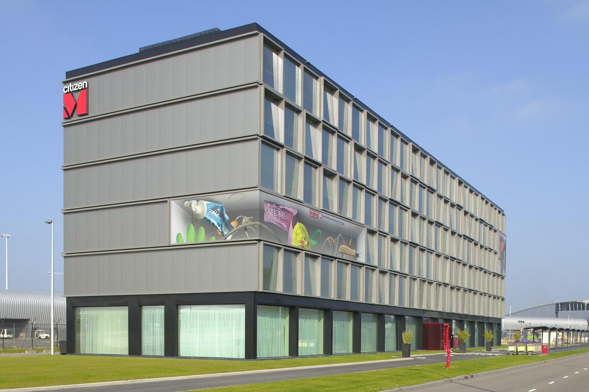 Hotelgebouw CitizenM