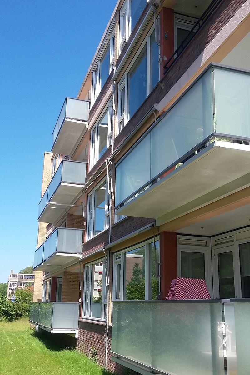 Balkonrenovatie Nachtegaalflat