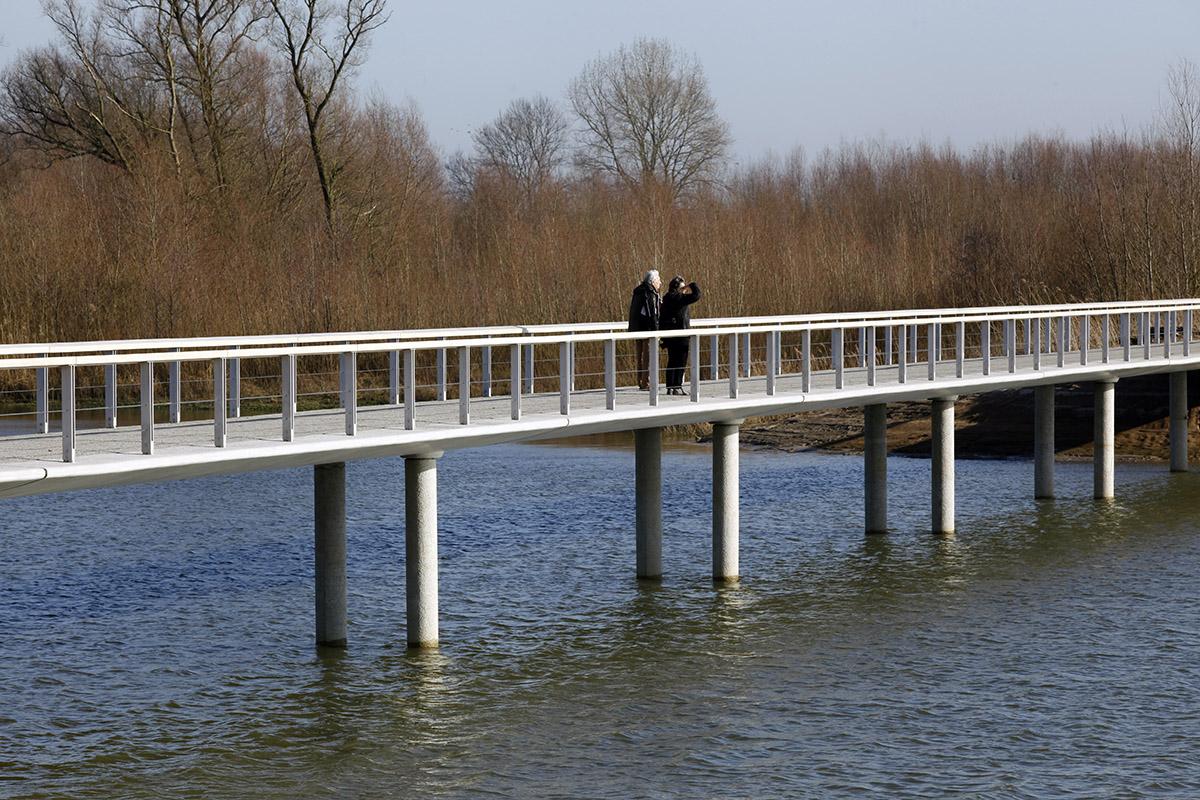 Fietsbrug Fortmond Olst