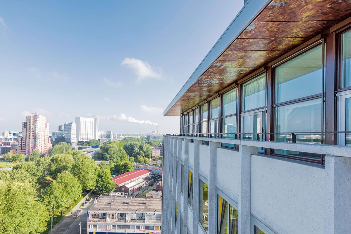 Elseviergebouw - studentenwoningen