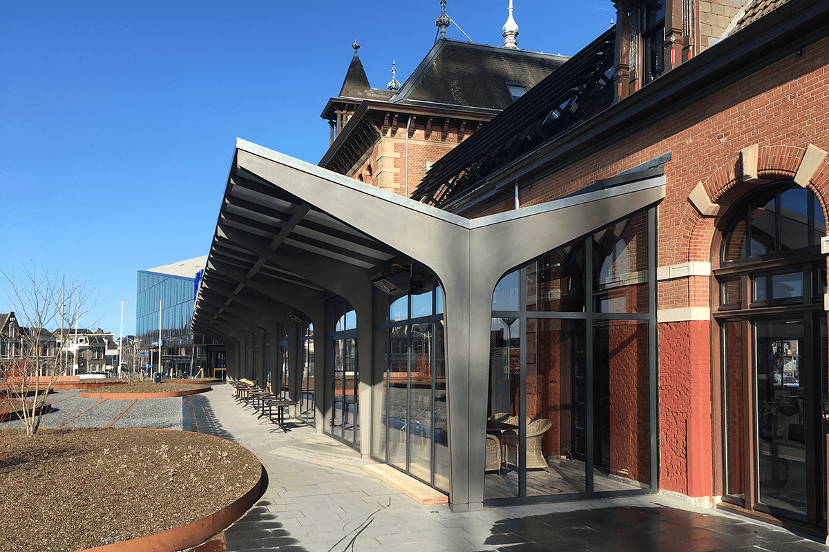 Transformatie stationsgebouw Delft