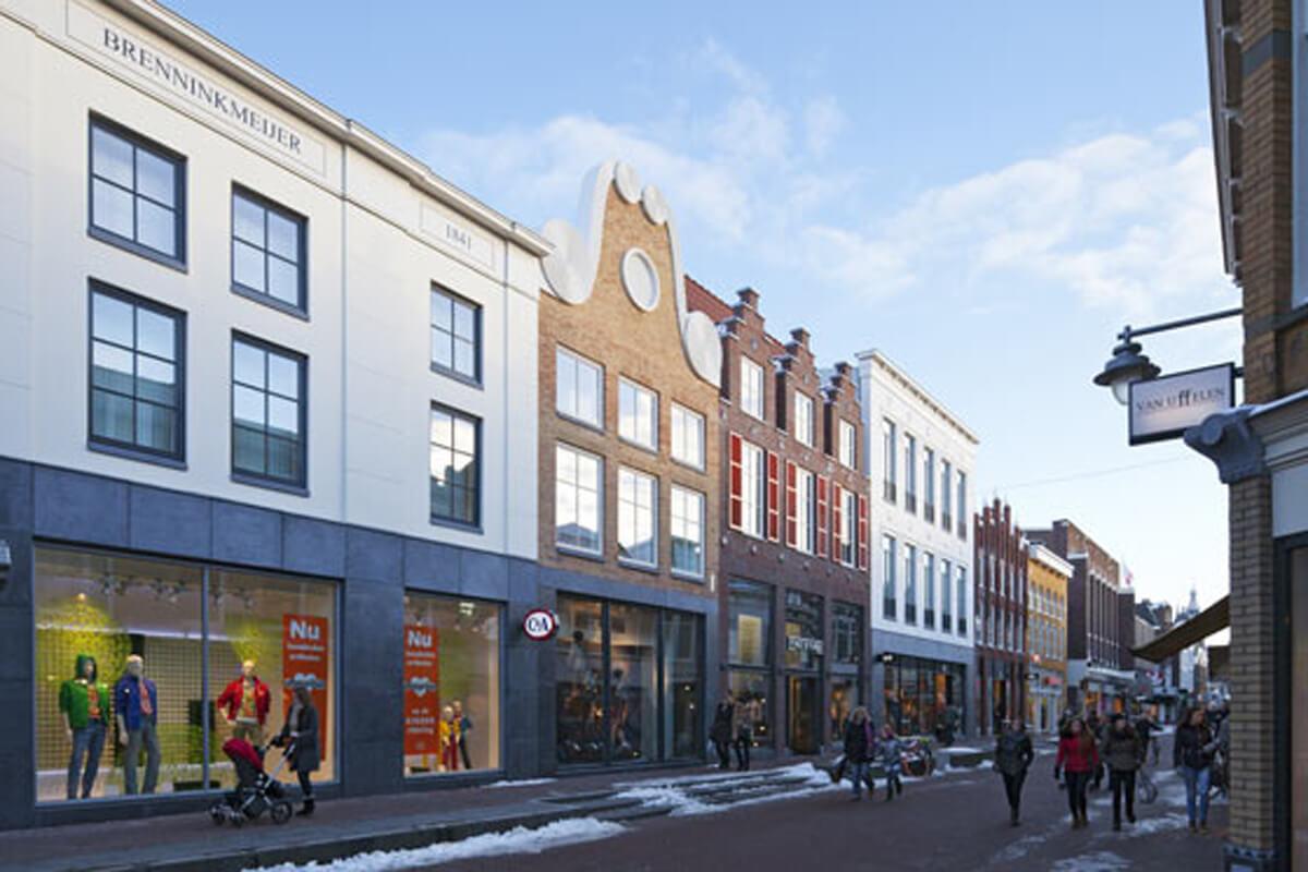 Herontwikkeling winkels Kleiweg