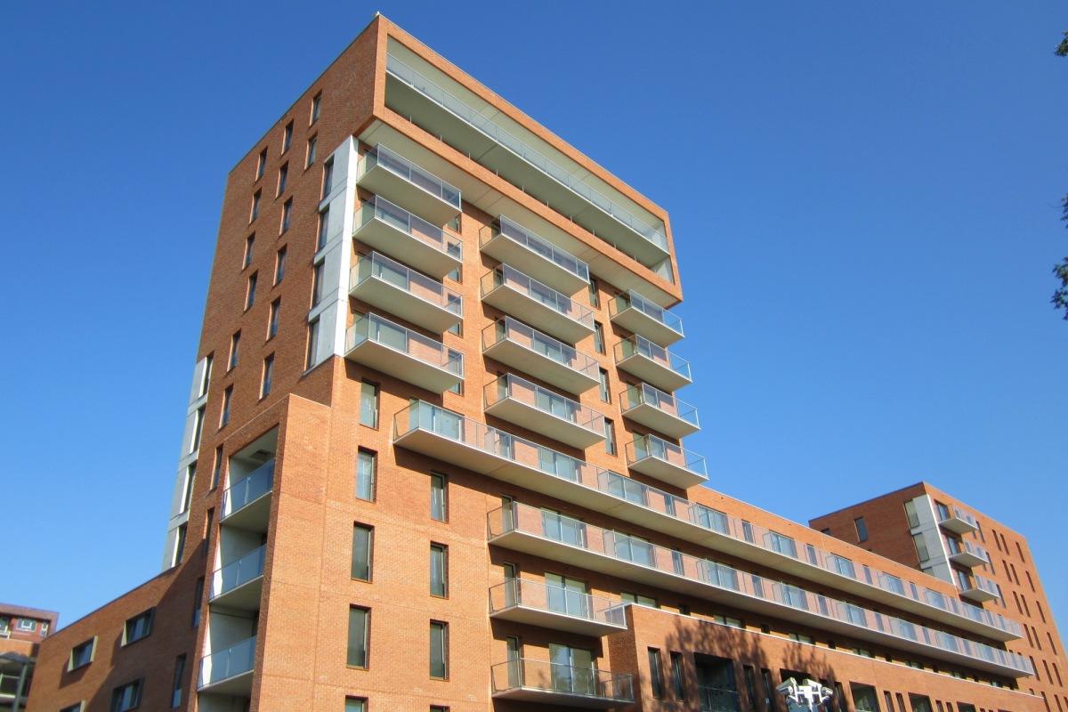 Ultra dunne UHSB Hi-Con balkons