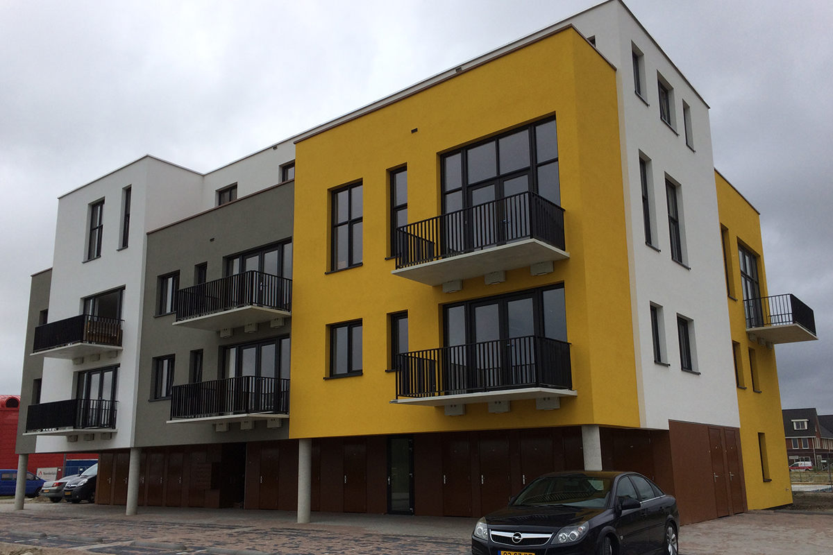 Balkons Strandvilla's Almere