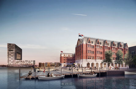 Hotel 'BOOT&CO' in Houthaven