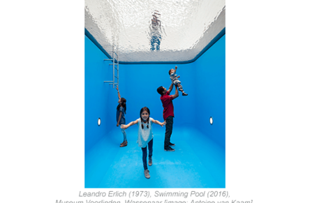 Glas award for swimming pool at Museum Voorlinden