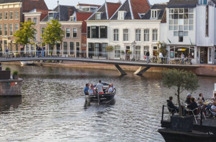 Article in Cement about the Catharina bridge in Leiden