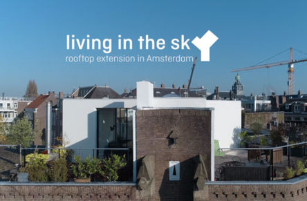 Expansion on roof in Amsterdam