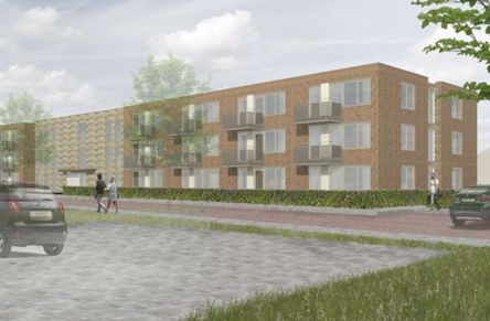 Start building residential in Zoetermeer