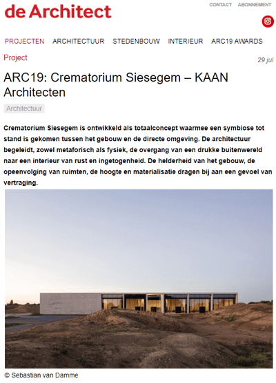 thumb De-Architect-ARC19-Crematorium-Siesegem---KAAN-Architecten.png