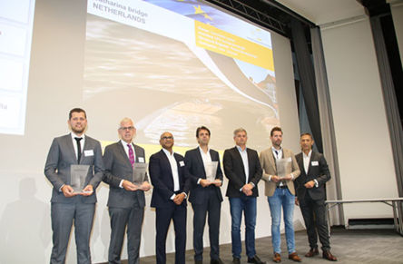 Catharinabrug wins European Concrete Award