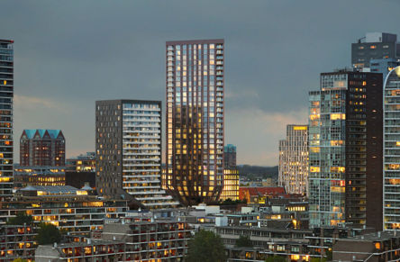 It is all about balance in high-rise tower Rotterdam