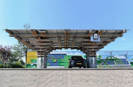 E-Mobility Park nominated for architecture prize